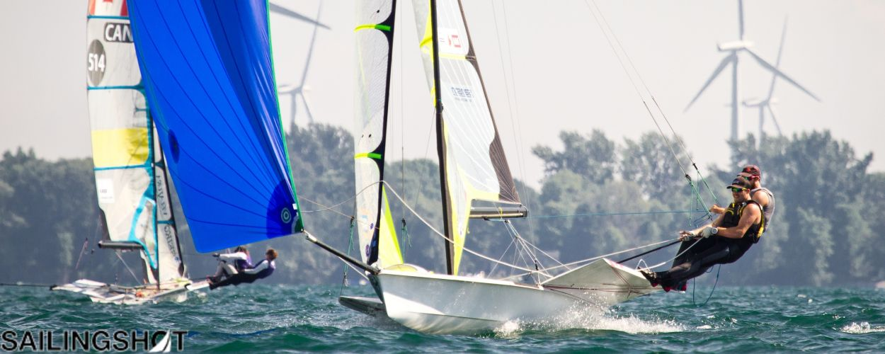 The 49er and 49er FX Junior World Championships